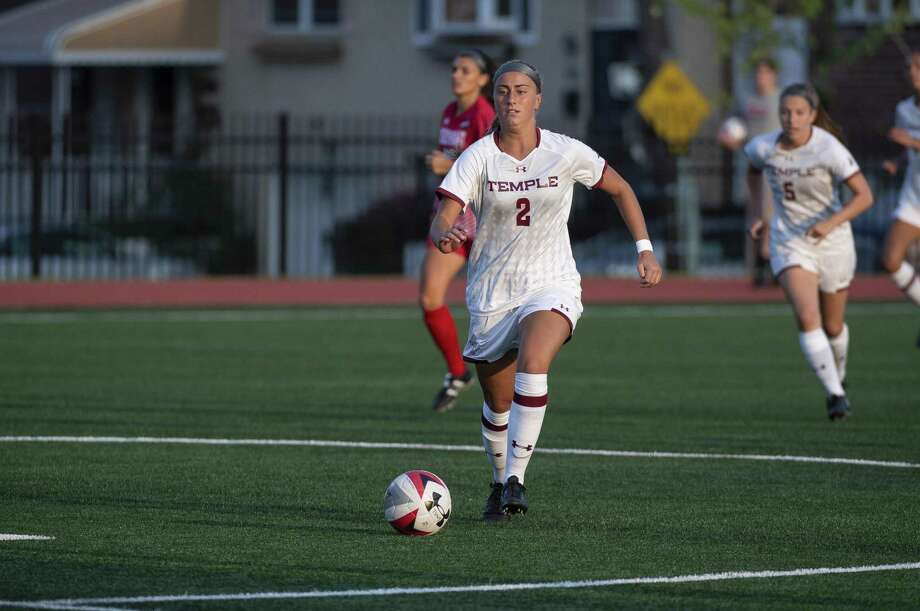Temple sophomore Natalie Druehl, a Stamford native Photo: Temple Athletics. / Apice
