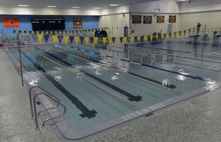 Westhill High School pool on Wednesday, Nov. 2, 2016. Photo: Matthew Brown / Hearst Connecticut Media / Stamford Advocate