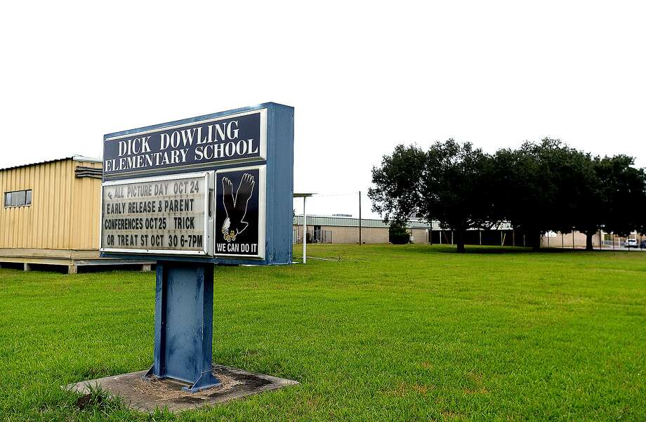A name change for Dick Dowling Elementary School is on the agenda for the Port Arthur ISD at Thursday's board meeting. Changing the district's other Confederate namesake school is Robert E. Lee Elementary.  Photo taken Wednesday, October 24, 2018  Kim Brent/The Enterprise Photo: Kim Brent / The Enterprise / BEN
