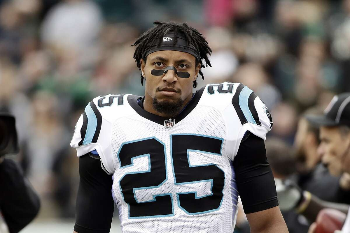 Safety Eric Reid has started 98 games in seven seasons with the 49ers and Carolina. He has 11 career interceptions.