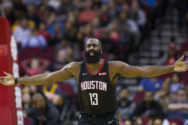 6ed8d0984447 James Harden hurt late in Rockets loss to Jazz - HoustonChronicle.com