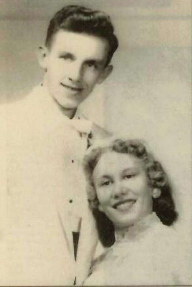 The couple in 1958.