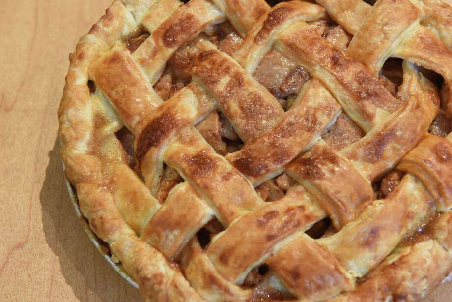Backyard apple pie at Main Street Goodness, home of Pieconic on Friday, Sept. 21, 2018 in Chatham, N.Y. (Lori Van Buren/Times Union) Photo: Lori Van Buren / 20044890A
