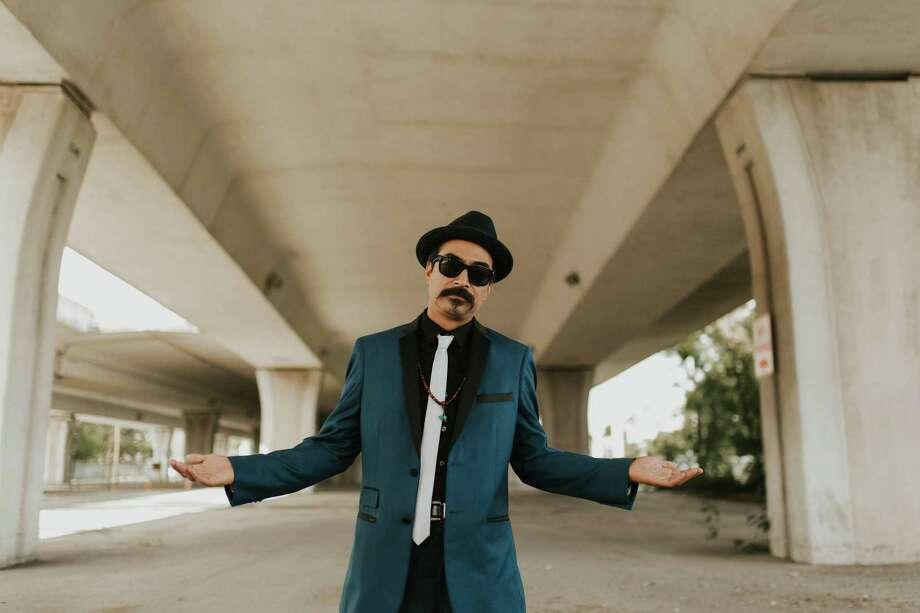 Los Nahuatlatos frontman Nicolas Valdez says he didn't set out to make a political album but was inspired by the times. Photo: Los Nahuatlatos
