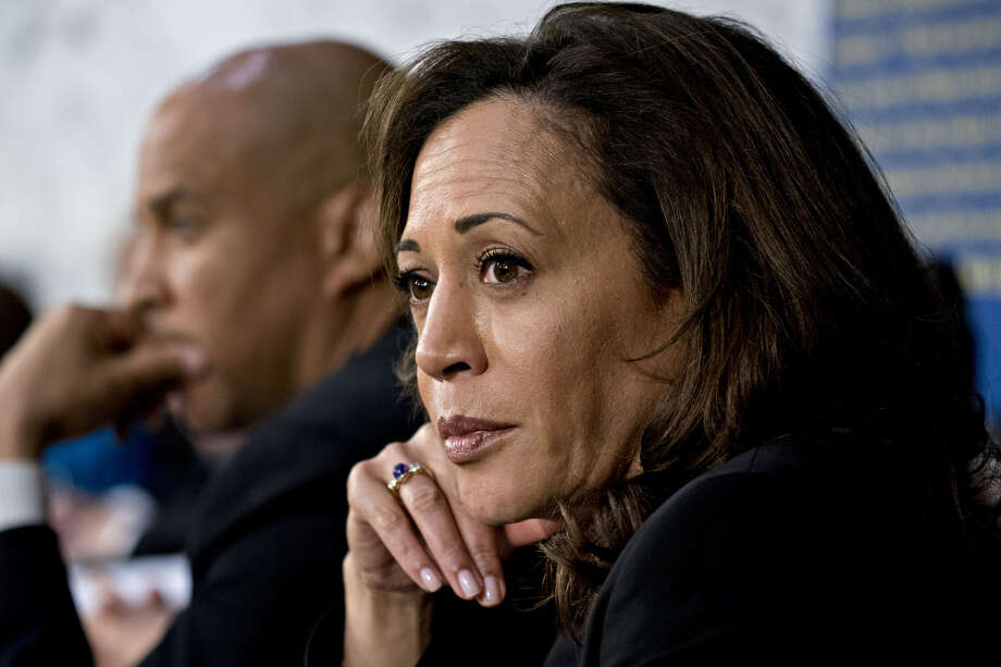 Sen. Kamala Harris, D-Calif., in Washington on Sept. 4, 2018. Photo: Bloomberg Photo By Andrew Harrer. / © 2018 Bloomberg Finance LP