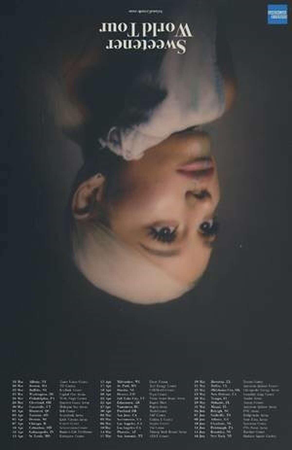 Ariana Grande is bringing The Sweetener World Tour to San Antonio on May 17.