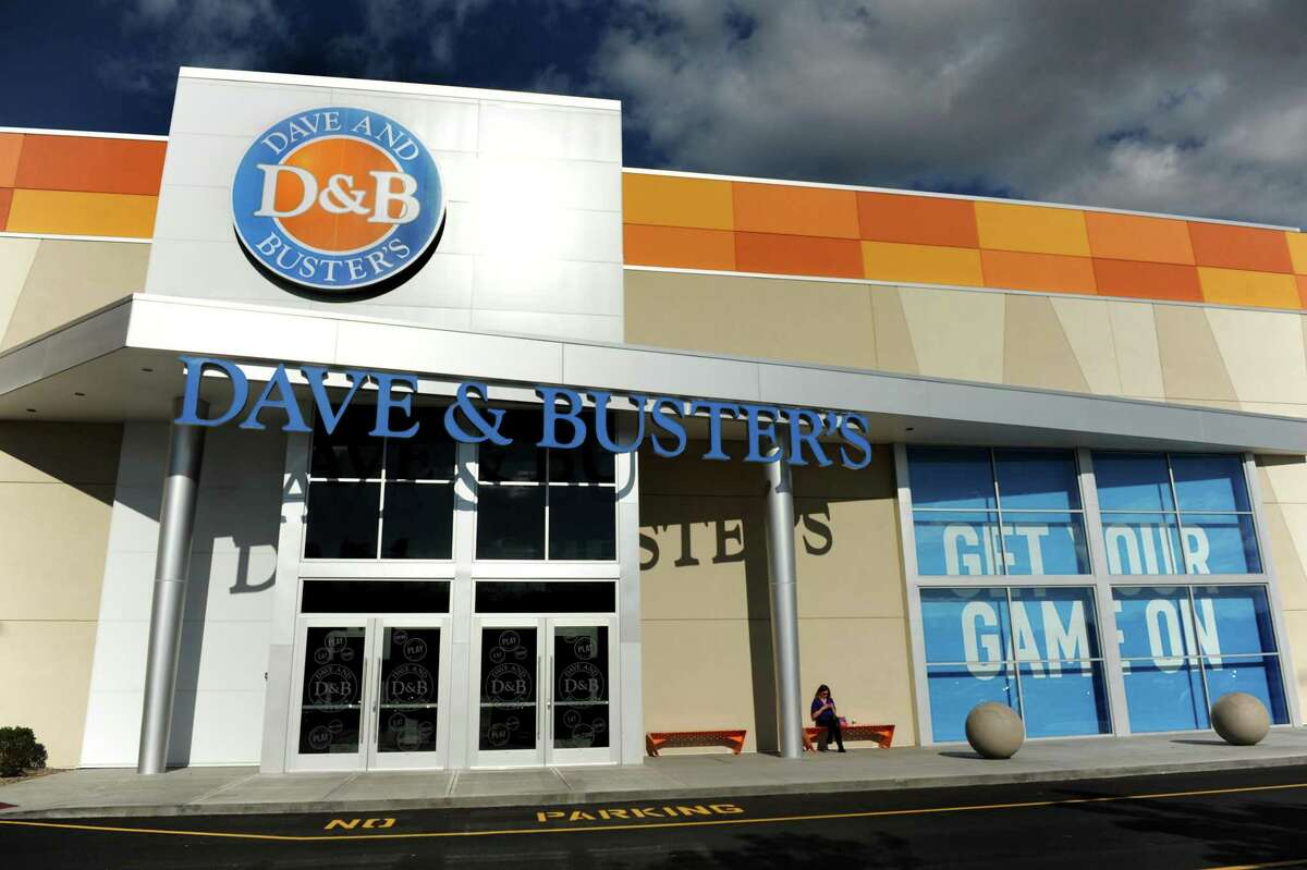 Dave and Buster's restaurant on Friday, Oct. 18, 2013, at Crossgates Mall in Guilderland, N.Y. (Cindy Schultz / Times Union)