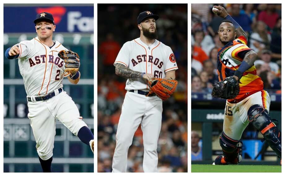 PHOTOS: Contract situation for each Astros player this offseason 