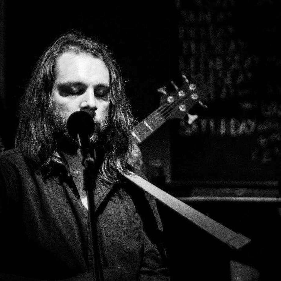 Lucas Van Scoy, the 30-year old Glens Falls native and resident who primarily performs as William Hale, is playing a triptych of shows ahead of Halloween as his spooky alter ego, Willian Hate. Photo: Courtesy Of Mike Cybulski