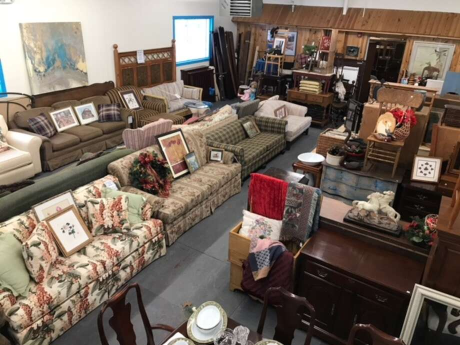 A view of the sales floor of The Southern Adirondack ReStore in Moreau. The sale of furniture and household items in the 7,000-square-foot-space benefit Habitat for Humanity of Northern Saratoga, Warren and Washington County. (Photo provided0