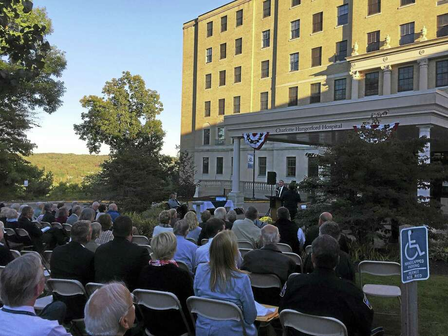 The community marks the 100th anniversary of Charlotte Hungerford Hospital in Torrington. Photo: Ben Lambert / Hearst Connecticut Media File Photo