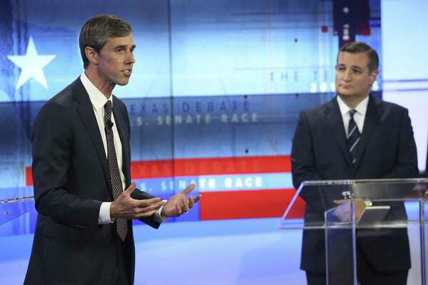 Rep. Beto O'Rourke's harsher attacks recently against Sen. Ted Cruz are a departure from the generally positive tone of his campaign.