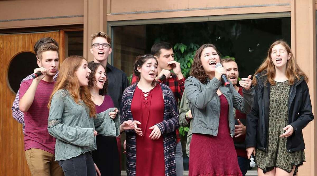 Shir Appeal is one of eight singing groups performing Nov. 4 at Temple Sholom in Greenwich.