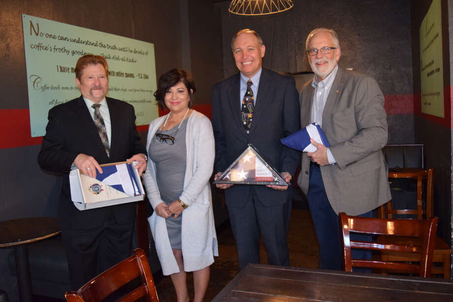 Hale County Judge Bill Coleman and 64th District Judge Robert Kinkaid were honored during a Thursday morning celebration for the pro bono legal work they've provided. Photo: Ellysa Harris/Plainview Herald