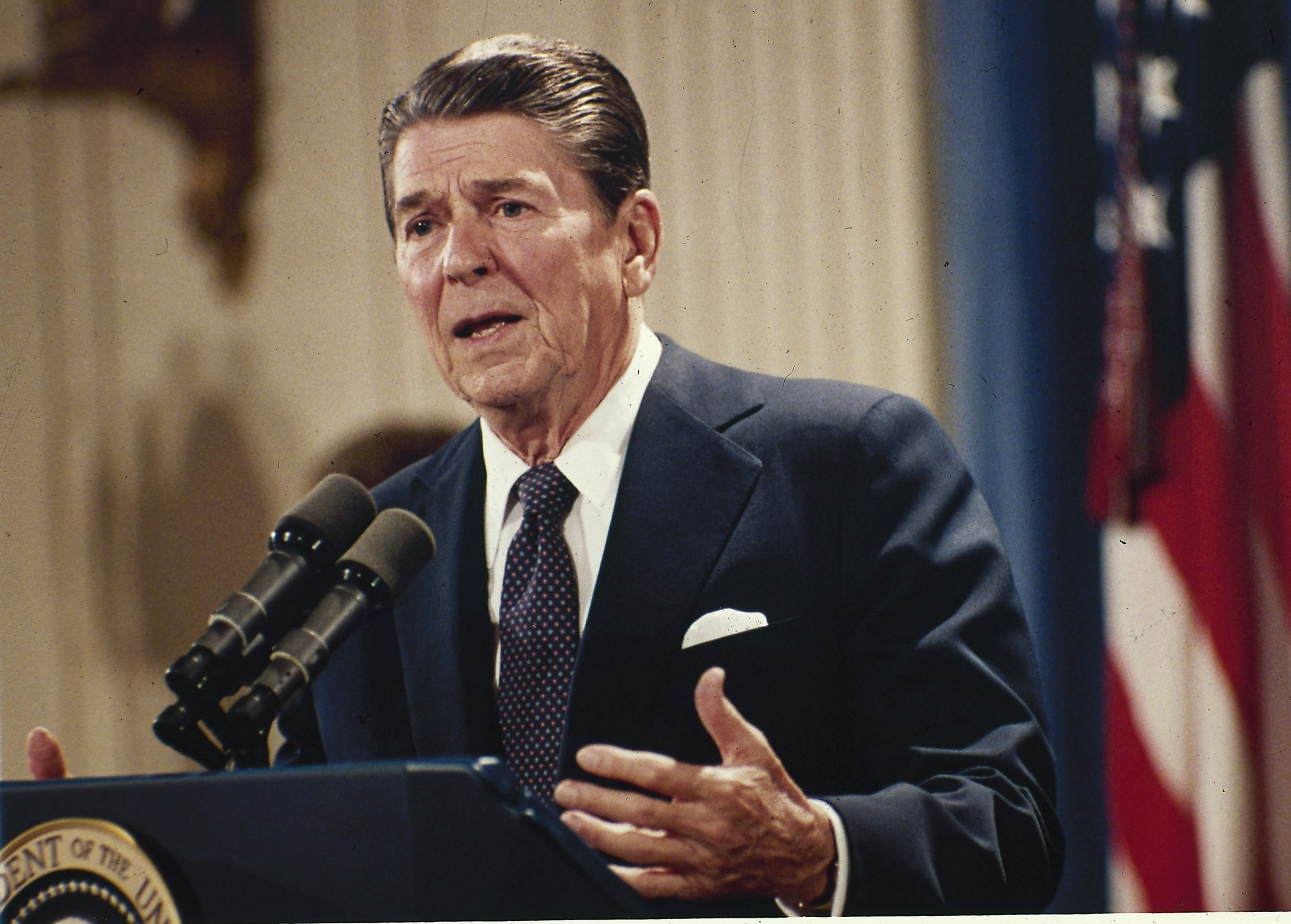 What did Ronald Reagan claim about immigration amnesty
