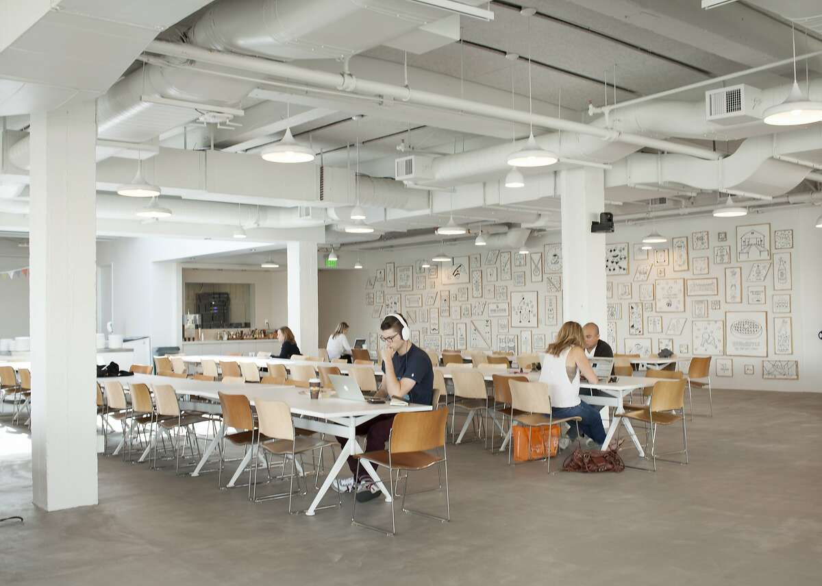 The Ate Ate Ate cafeteria at Airbnb's San Francisco headquarters, located at 888 Brannan St.
