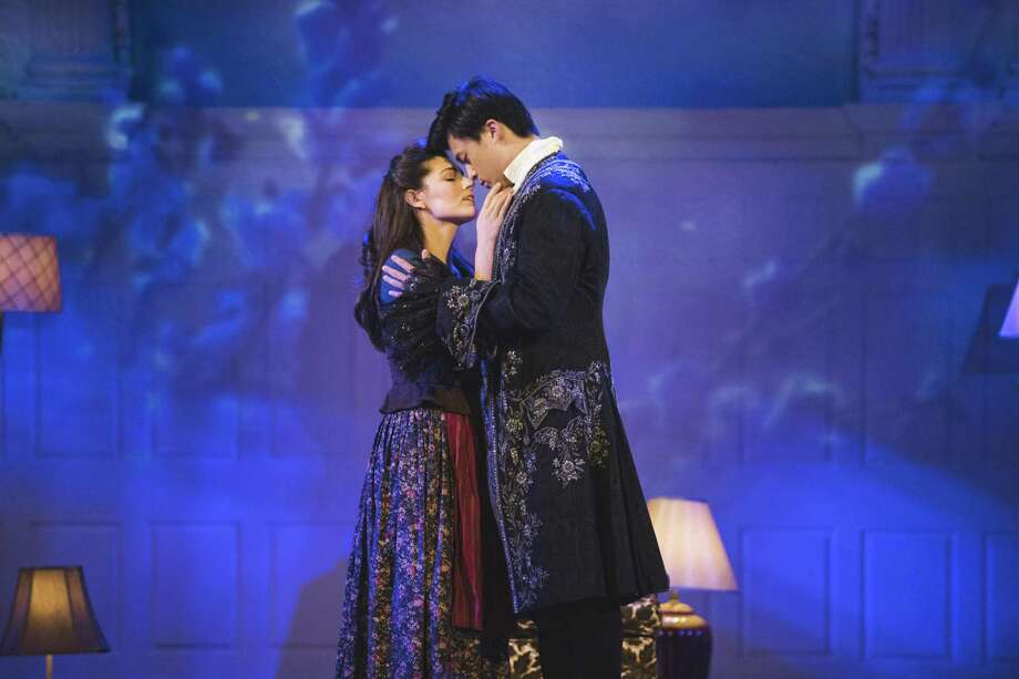 """Yale Opera performers Anush Avetisyan and Ricky Feng Nan will perform in the """"Fall Scenes"""" show. Photo: Courtesy Of Matt Fried"""