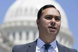 WASHINGTON, DC - JULY 10: Rep. Joaquin Castro (D-TX) speaks during a news conference regarding the separation of immigrant children at the U.S. Capitol on July 10, 2018 in Washington, DC. A court order issued June 26 set a deadline of July 10 to reunite the roughly 100 young children with their parents. (Photo by Alex Edelman/Getty Images)