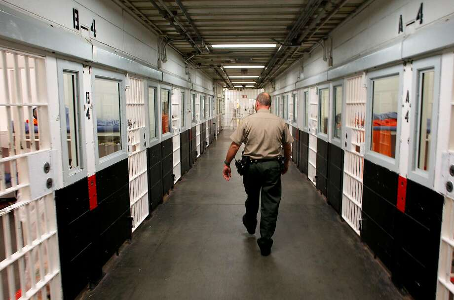 A watch commander inside the San Francisco County Jail facility located at the Hall of Justice Building. California has the worst education vs. incarceration spending ratio in the country, according to a report released on October 25, 2018. Photo: Michael Macor / The Chronicle