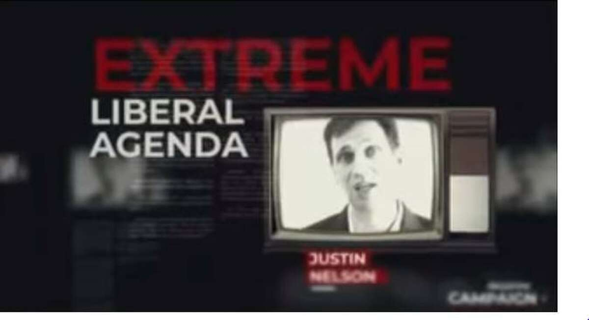 """Attorney General Ken Paxton launched a negative campaign ad against Democrat Justin Nelson, casting the Austin lawyer as having an """"extreme liberal agenda."""" The add first appeared around Oct. 25, 2018. >>How much Texas candidates are spending on Facebook ads"""