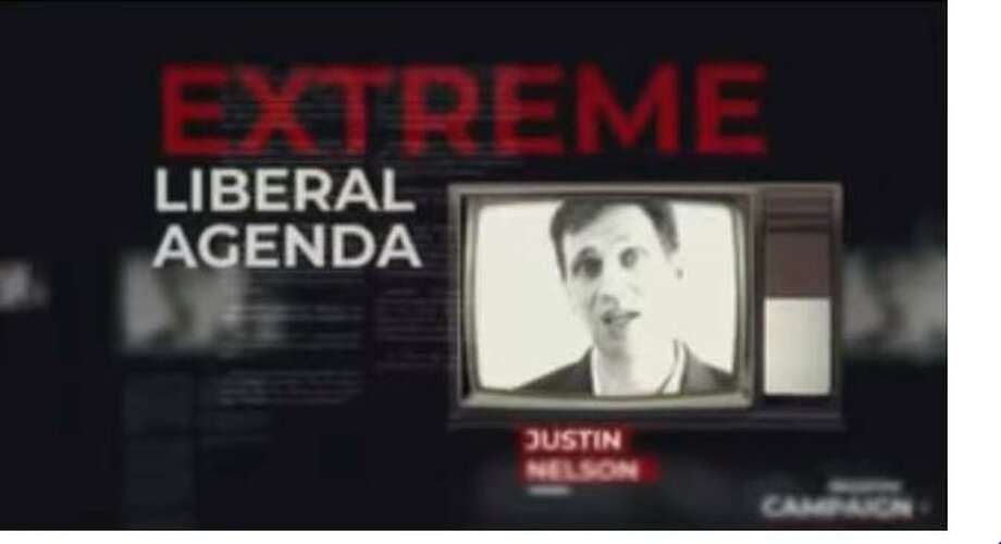 "Attorney General Ken Paxton launched a negative campaign ad against Democrat Justin Nelson, casting the Austin lawyer as having an ""extreme liberal agenda."" The add first appeared around Oct. 25, 2018. >>How much Texas candidates are spending on Facebook ads Photo: Screenshot Courtesy Of The Ken Paxton Campaign"