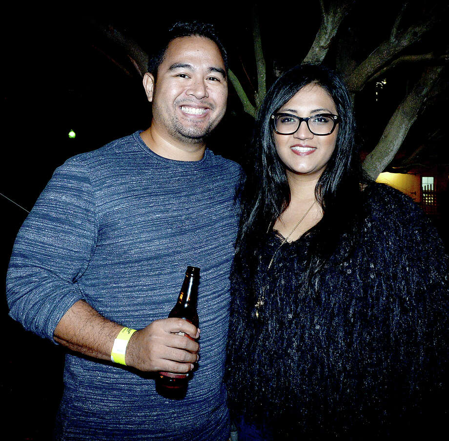 Jeremy Fermo and Ana Garcia were at the Heritage Happy Hour and Haunted Chambers House tours Thursday. Photo taken Thursday, October 25, 2018 Kim Brent/The Enterprise Photo: Kim Brent/The Enterprise
