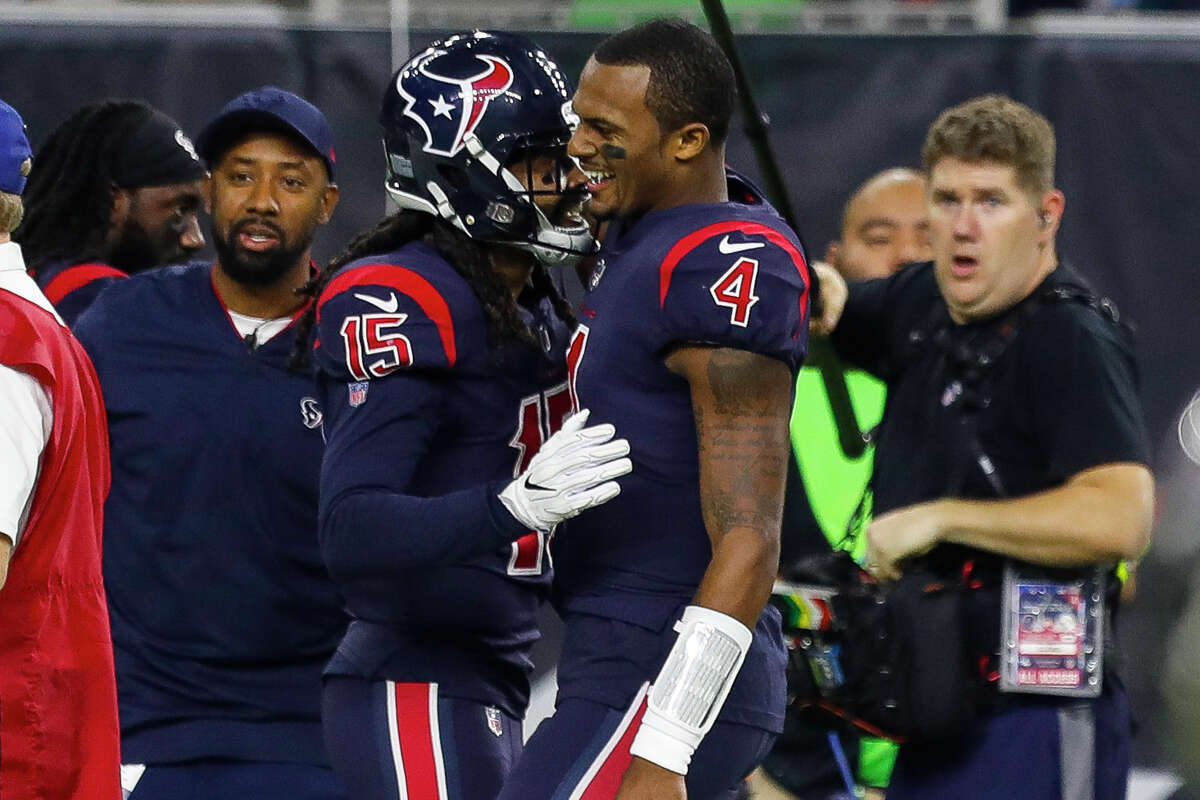 The offseason storylines are in full swing as Deshaun Watson (4) wants the Texans to trade him while Will Fuller is a free agent who could still be franchise tagged.