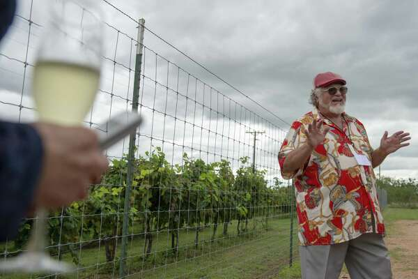 Messina Hof co founder Paul Bonarrigo is shown at his Hill Country winery in Fredericksburg.