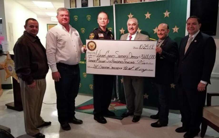 Local and county authorities announced Thursday they have received $3.6 million as part of Operation Stonegarden funding to protect the border. Photo: Laredo Morning Times