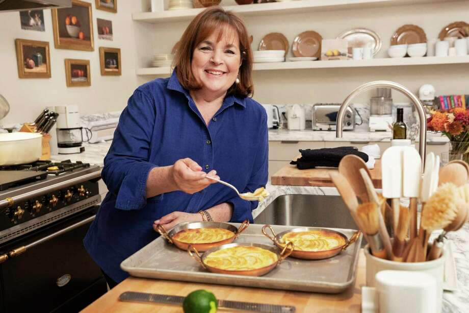 "Ina Garten, whose latest cookbook is ""Cook Like a Pro,"" relaxes in her New York kitchen on Oct. 16, 2018.  Photo: Photo For The Washington Post By Jesse Dittmar / Jesse Dittmar"