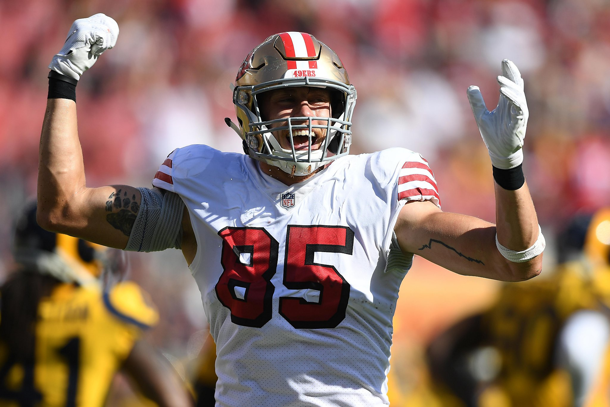 49ers George Kittle A Captain Quickly Earns Locker Room