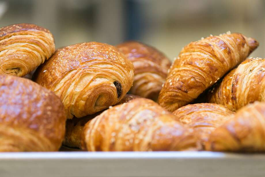 Homemade butter and chocolate croissants at Vive la Tart on Howard Street. Photo: Jen Fedrizzi / Special To The Chronicle