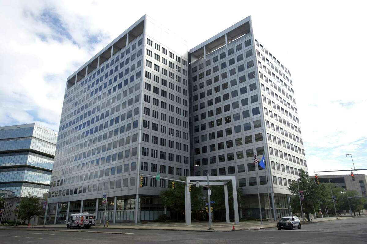 Charter Communications' headquarters are located at 400 Atlantic St., in downtown Stamford, Conn.