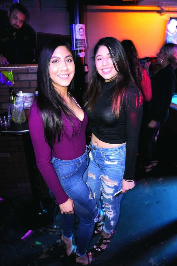 5f6eb3b8d Daisy Mata and Dennisse Esquivel at The Happy Hour Downtown Bar Friday