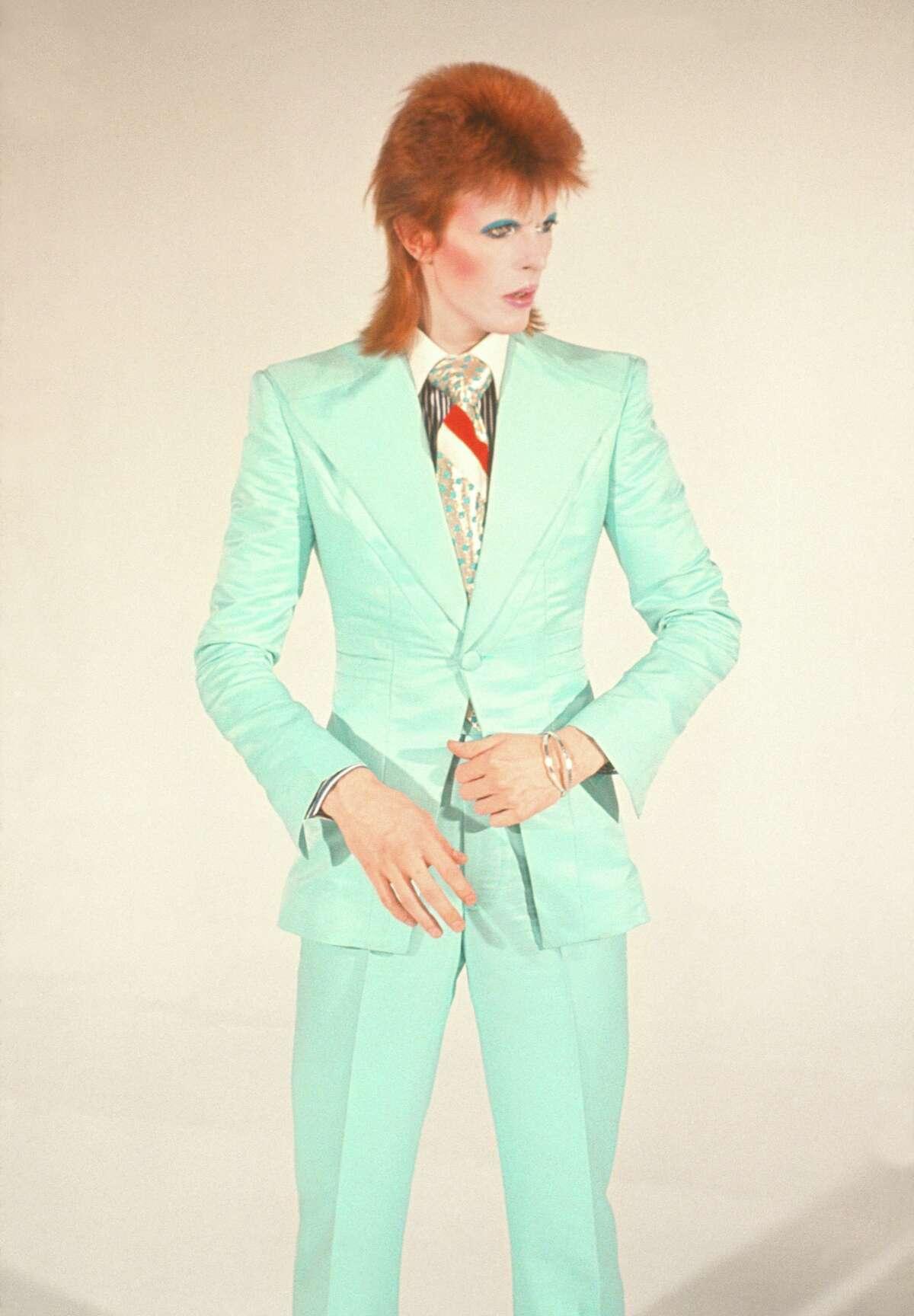 Mick Rock: David Bowie, Life on Mars. 1973. © Mick Rock courtesy Aperture