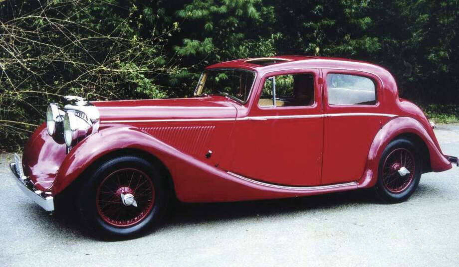 The 1947 Jaguar Mark IV 3.5-liter Saloon dodged being flooded by Hurricane Isabel in 2003 thanks to the quick actions of its owner, Richard Uperti.