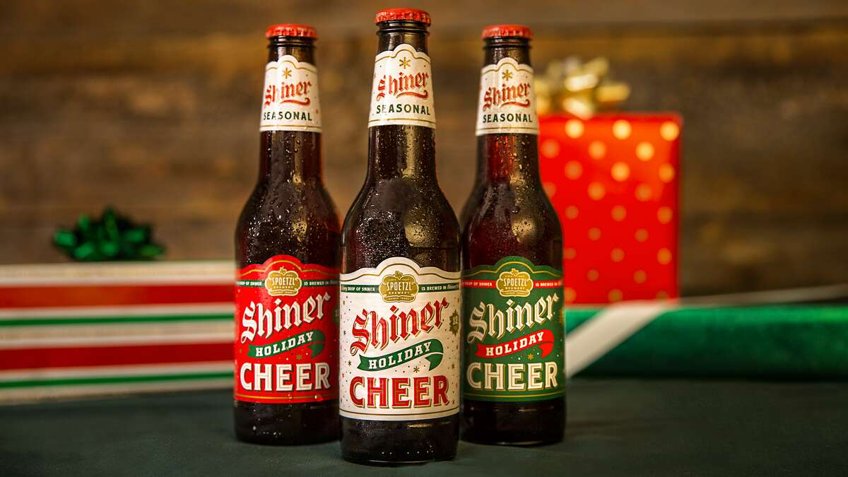 Shiner Christmas Cheer beers Available: While supplies last One of the most well-known Texas breweries will once again offer several unique offerings for the holiday season.