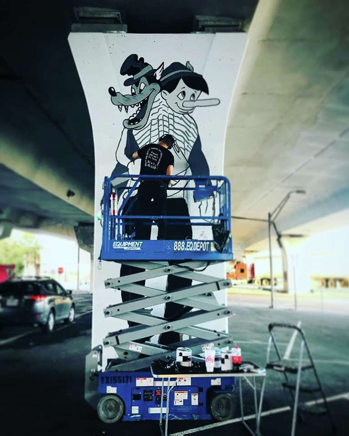 The first phase 1 of the San Antonio Street Art Initiative is a Nov. 3 unveiling of 16 murals by 16 local artists at the Interstate 35 underpass where Quincy and St. Mary's streets meet.