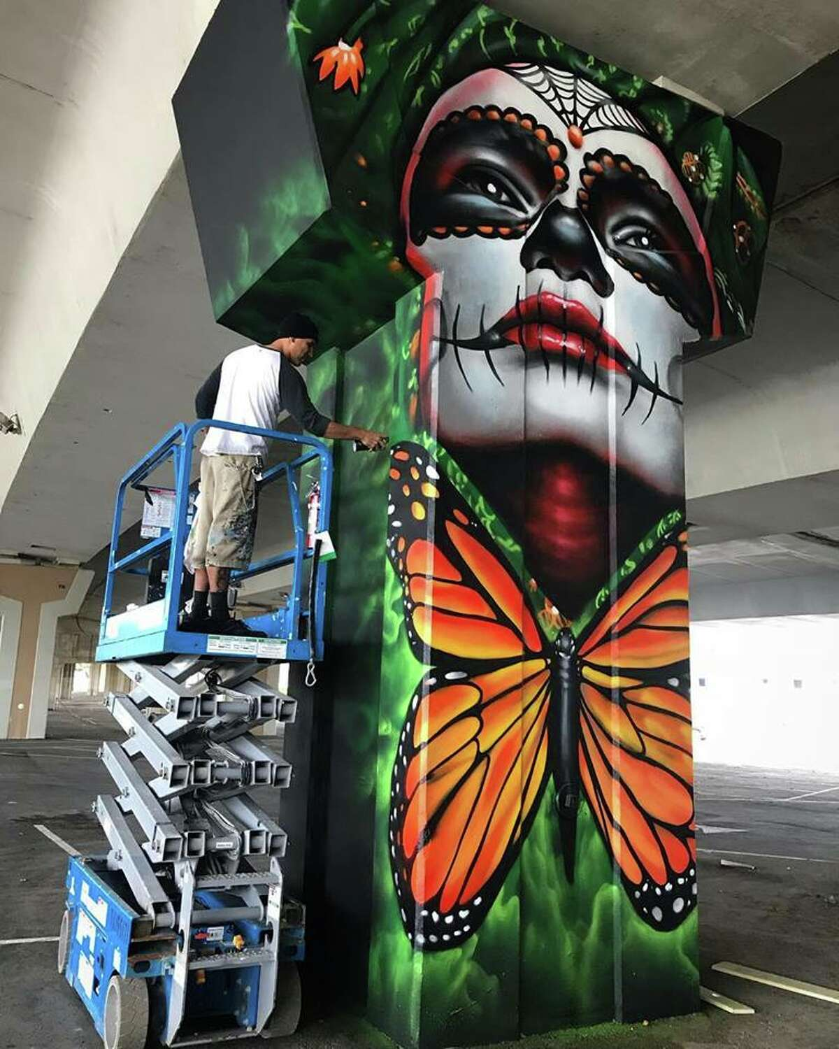 Nik Soupe, Shek Vega Soupe and Vega created murals that changed street art in San Antonio. Shek Vega also founded the San Antonio Street Art Initiative in 2018 with a mission to educate and inspire the public to