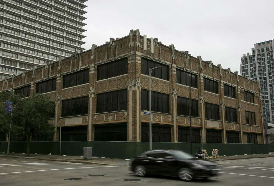 The 1920s Shelor Motor Company Building embodied Houston's ambitions as much as the Astrodome would a generation later — but it also contributed to an urban, pedestrian-scaled life that is the key to Houston's sustainable future. Photo: Godofredo A. Vasquez, Houston Chronicle / Staff Photographer / 2018 Houston Chronicle