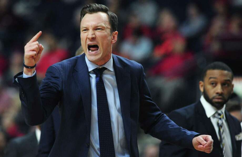 "Baker Dunleavy's Quinnipiac men's basketball team will host Princeton in a ""secret"" scrimmage on Saturday. Photo: Erik Trautmann / Hearst Connecticut Media / Norwalk Hour"