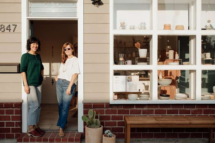 Morningtide is a lifestyle shop in Albany opened by designers Lisa Jackson (right) and Lisa Fontaine(left).
