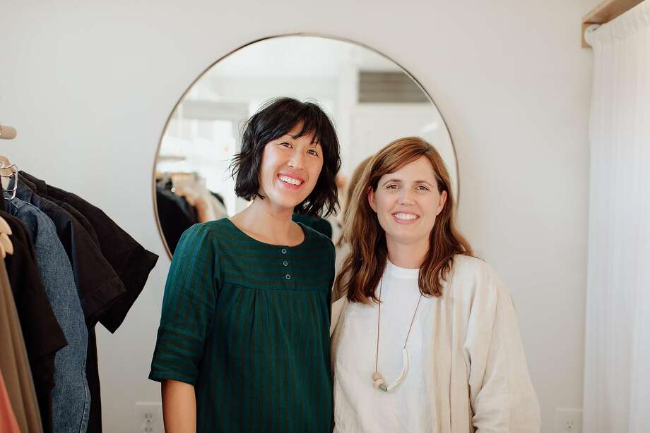 Morningtide is a lifestyle shop in Albany opened by designers Lisa Jackson (right) and Lisa Fontaine (left). Photo: Marble Rye Photography