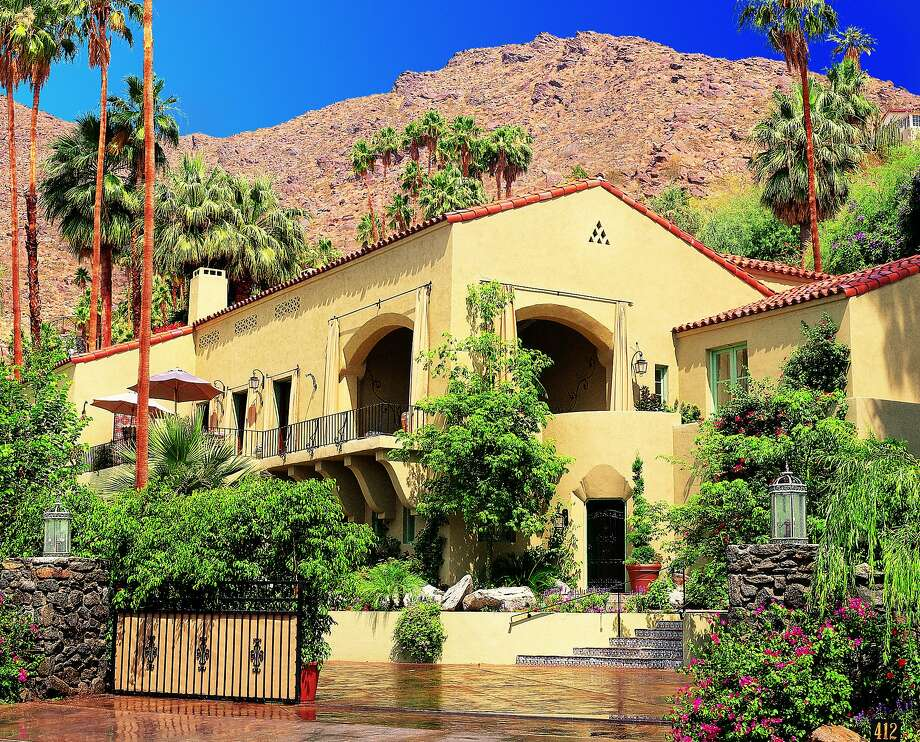 Exterior of the Willows Historic Palm Springs Inn in Palm Springs. Photo: Willows Historic Palm Springs Inn