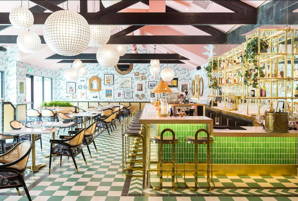 The Pink Cabana at the new Sands Hotel & Spa in Indian Wells features Martyn Lawrence Bullard�s design and chef Jason Niederkorn�s Mediterranean cuisine.