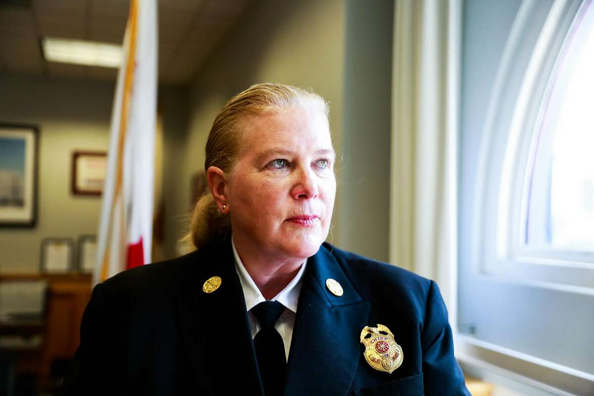 San Francisco Fire Chief Joanne Hayes-White in 2018.