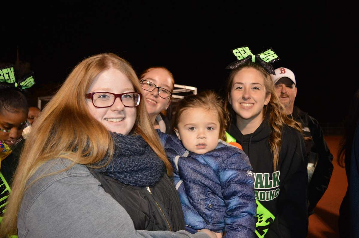Norwalk and Danbury high schools faced off on the football field on October 26, 2018. Were you SEEN in the stands?