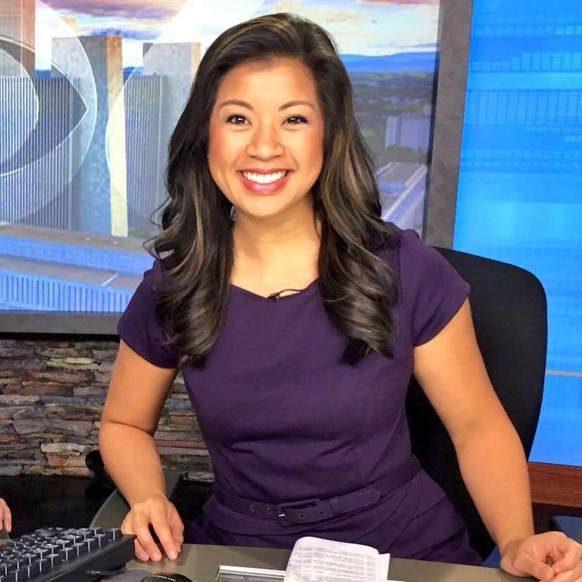 """1. I knew I wanted to be a news anchor in the fourth grade. During a field trip to the local Fox station, I sat down at long-time anchor Kelly Ring's desk and said to myself """"I'm going to do this someday."""""""