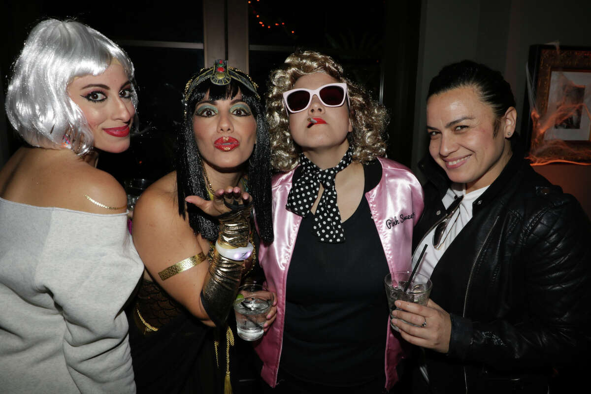 The Hotel Zaza hosted the Haunted By Hollywood Icons of the Past halloween party on October 26, 2018. (Photo by Marco Torres/@MarcoFromHouston)