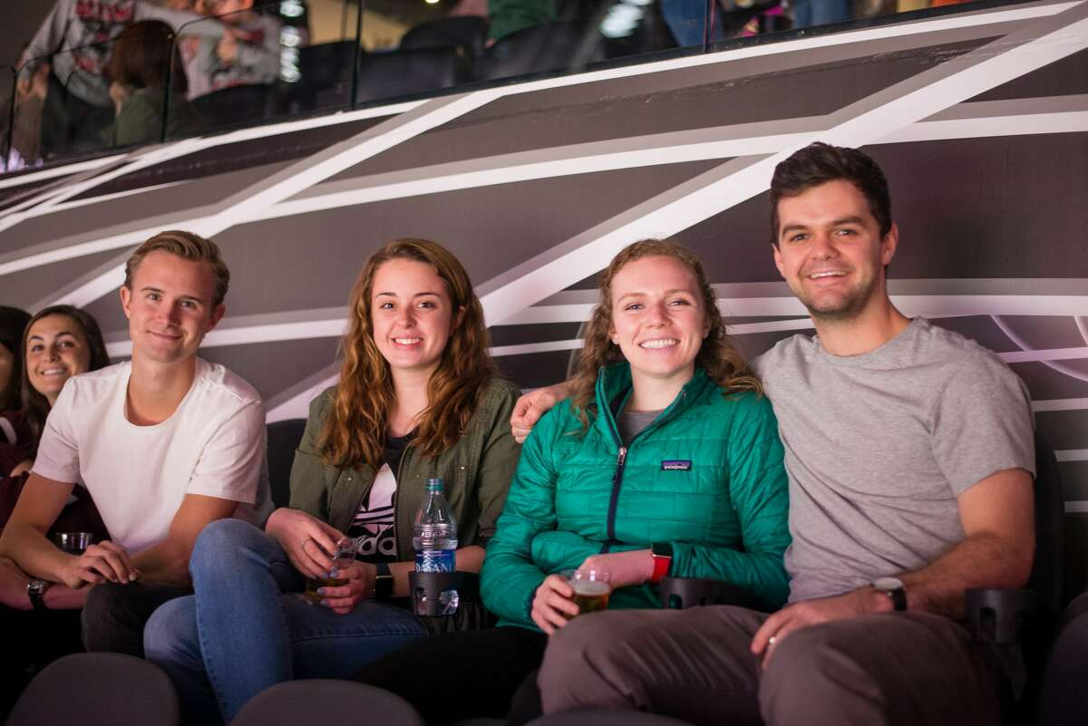 San Antonio cheered on the San Antonio Rampage as they played against San Jose Barracuda on Friday, Oct. 26, at the AT&T Center.